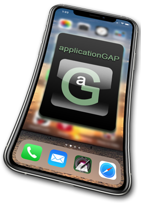 applicationGAP iPhone Footer
